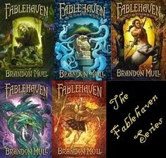 Brandon Mull's Fablehaven series. Excellent (especially for pre-teen/early teen boys like mine who need a very engaging story.)