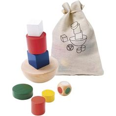 Personalised Balance Tower Block Game, balance the blocks in this fun game based on an old favourite! From £1.63