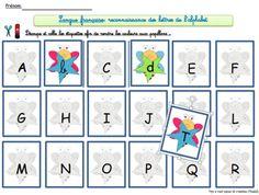 Alphabet -association majuscules, minuscules, script et cursif