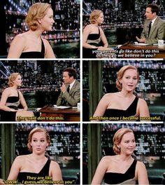 Jennifer on her parents support lol