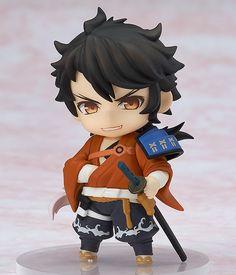 Touken Ranbu Online Chibi swords man Key chain Figure Mutsunokami Yoshiyuki