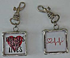 Adorable charms developed by Carol Gino, RN and NY best selling author of the Nurse's Story. Check them out here http://nurseborn.com/product/charmed-nurse