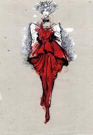 Image result for galliano original sketches