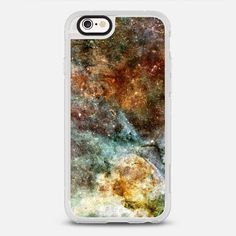 Galaxy 1 - protective iPhone 6 phone case in Clear and Clear by Jande Laulu #space| @casetify