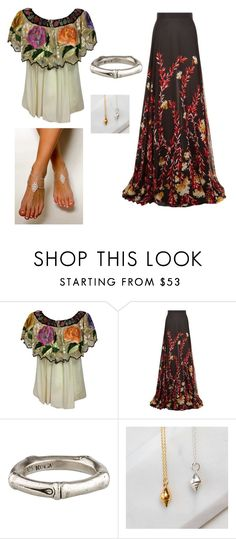 """Boho Witch"" by little-witch15 ❤ liked on Polyvore featuring Giambattista Valli and John Hardy"