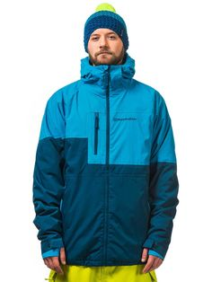 Baker Shell Giacca Snowboard, Surf, Rain Jacket, Windbreaker, Shell, Jackets, Blue, Fashion, Down Jackets