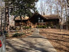 Private Lake Hartwell Waterfront Log home