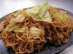 Japanese Food Recipes: Yakisoba Recipe