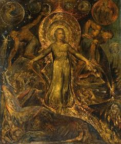 William Blake, The Spiritual Form of Pitt Guiding Behemoth,  circa 1805   -   perhaps i should file this in 'gnostic' art? we all know Blake wasn't your run of the mill christian, right? well, i am going to assume my fellow pinners who like this already know. and if you don't? look it up, please.