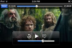 I was watching the Hobbit on my iPod and I paused it on Bilbos face and....<<<---LOL