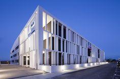 Academy Of Art Crafts (ESMA) designed LCR Architectes, 50 Route de Narbonne, 31320 Auzeville-Tolosane, France - 2013.