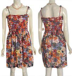 1970s Smocked Vintage Sun Dress NWT | NeldasVintageClothing - Clothing on ArtFire