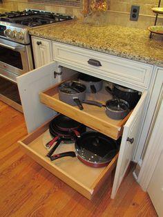 Shenandoah McKinley Maple Hazelnut - Hironimus - traditional - kitchen - charlotte - Lowes of Indian Land, SC
