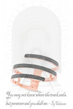 Explore this stunning range of black diamond lady's rings - Complement your style with this intricate black diamond ring 14k rose gold (pink gold) which has an approximate weight of 0.30 ctw. It makes for a great anniversary birthday or weddings day gift. Offered by Allurez at $830.00 (Price subject to change)