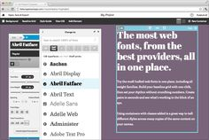 Free Version of Monotype's Typecast Tool Adds 3,000 Fonts.com Fonts -- Monotype has announced an enhanced version of its Typecast application, the free edition of which now includes 3,000 webfonts from the Fonts.com collection. #fonts #typographty #webfonts
