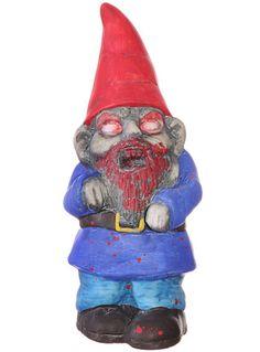Creepy Zombie Garden Gnome at PLASTICLAND NEEEEEEEEEEED!!!!!!