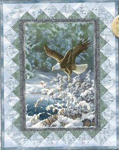 Winter Eagle Quilt - LOVE!!!