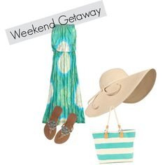 Weekend Getaway ~, created by jennifer-elmore-pascual on Polyvore
