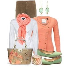 Spring colors with cool weather