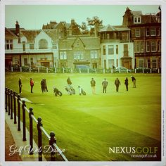 St Andrews Golf Club, the hole St Andrews Golf Club, Golf Clubs, Golf Courses, Saints, 18th, Mansions, House Styles, Santos, Mansion Houses