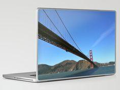 San Francisco Golden Gate Bridge Laptop & iPad Skin by Josj