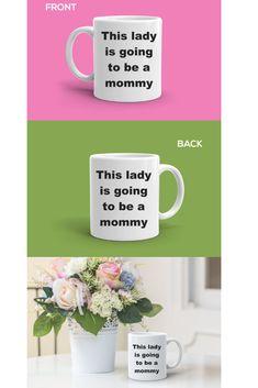New Mom Mug, Baby Shower Gift