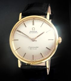 This is a beautiful Omega Seamaster De Ville Gold, automatic watch, dating from 1961 and in very good original condition.