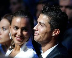 Football superstar Cristiano Ronaldo and his girlfriend Irina Shayk smiling… Cristiano Ronaldo 7, Cristiano Ronaldo Girlfriend, Irina Shayk, Uefa European Championship, Nba, Carlo Ancelotti, Good Soccer Players, Manchester United Soccer, Celebrity Couples