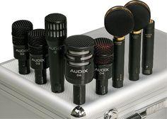 Audix Studio Elite 8 Microphone Pack  BEST DRUM MICS EVER MADE!