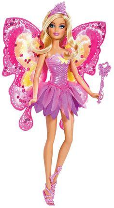 Barbie Beautiful Fairy Barbie Doll - Free Shipping