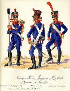 Cannonieri di un rgt. di artiglieria della westfalia