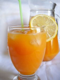 Nectar de caise | Retete Culinare - Bucataresele Vesele Dessert Drinks, Desserts, Romanian Food, Lemonade, Smoothies, Beverages, Good Food, Food And Drink, Cooking Recipes