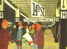 illustration from This is New York by Miroslav Sasek (1960)
