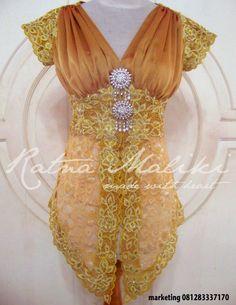 Model Kebaya Modern Lengan Pendek Foto
