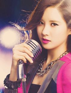smtownsnsd.com - Girls' Generation / 소녀시대/少 女時代/ SNSD International Fansite / Fan Community: [Photo] Fierce Maknae! Seohyun #snsd #kpop