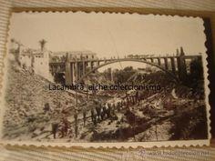 ANTIGUA FOTOGRAFIA Y SU NEGATIVO ORIGINAL ELCHE AÑOS 40/50 HISTORICA