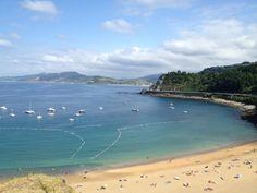 Basque Country, Gipuzkoa, Getaria Beach
