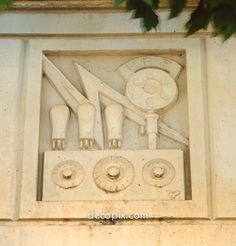 Decopix - The Art Deco Architecture Site - Murals & Friezes Gallery
