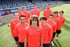 Uno de los símbolos de la filosofía del Barça. Los once canteranos del primer equipo del F.C. Barcelona para la temporada 2008-2009, empezan...