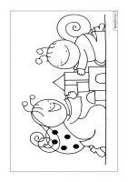 Bogyó és Babóca kifestők és színezők. Nyomtatható kifestők. Colouring Pages, Coloring Books, Marvel Coloring, Diy For Kids, Worksheets, Mandala, Clip Art, Templates, Make It Yourself