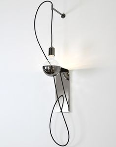 "Fuse Lighting ""Geneva"" – metallic and simple designed   lighting . Beleuchtung . luminaires   Design: Kevin Kolanowski   fuse lighting  "