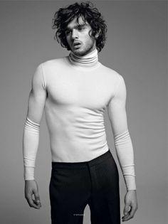Marlon Teixeira & Stephanie Seymour for Vogue Hommes International