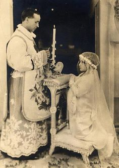 First Communion A lady just like she would protect the Holy Eucharist and not…