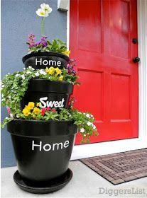 Frugalicious Chick: Spring Yard Ideas