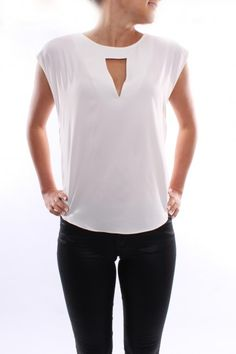 Tamsin Top White - Tops - Shop by Product - Womens