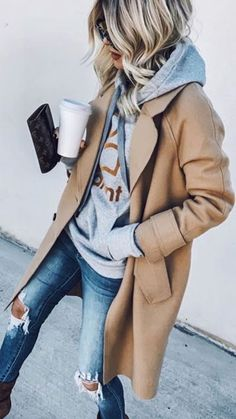 15 Cute and Casual Fall Outfit Ideas cute outfits, trendy outfits, casual outfits, fall fashion Outfit Ideen Herbst Trendy Fall Outfits, Winter Fashion Outfits, Fall Winter Outfits, Look Fashion, Stylish Outfits, Autumn Fashion, Fall Dress Outfits, Casual Fall Fashion, Cute Casual Outfits