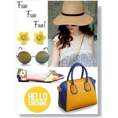 GET THE LOOK- FunFunFun! All items available now! #youcanneverhavetoomany AccessoryHut.com