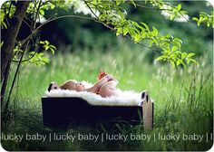Love outside babies pictures...