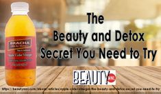 Beauty and Detox Secret You Need to Try!The Beauty and Detox Secret You Need to Try! Acv, Apple Cider Vinegar, Drink Bottles, Health Benefits, Detox, Secret Secret, Drinks, How To Make, Beauty
