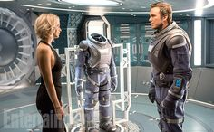 We finally have our first look at Jennifer Lawrence and Chris Pratt's new movie…